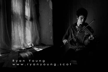 Scottish Fiddle Player Ryan Young