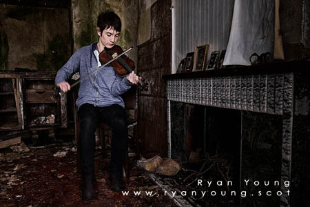 Scottish Violin Player Ryan Young